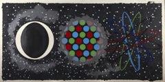 James Rosenquist 'Coin Noir 1977' Lithograph, 1977