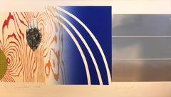 James Rosenquist, Horse Blinders (North), 1972, Lithograph and Screenprint