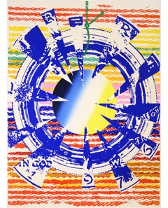 James Rosenquist, Miles from America, lithograph, signed, 1975