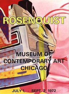 "James Rosenquist-Museum of Contemporary Art Chicago-30.25"" x 22""-Poster-1972"
