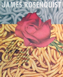 """James Rosenquist-The National Gallery of Canada-23"""" x 18.5""""-Poster-1968-Pop Art"""