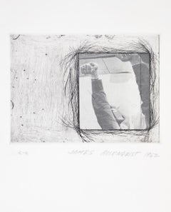 Rosenquist, Certificate, the International Anthology of Contemporary Engraving