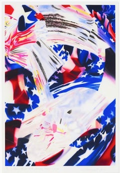 Stars and Stripes at the Speed of Light, James Rosenquist