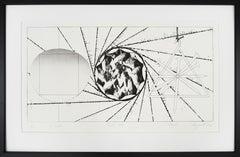 """""""Sunglass Lens - Landing Net - Triangle"""" by James Rosenquist"""