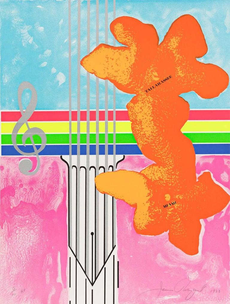 James Rosenquist Print - Untitled