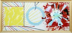 Yellow Landing, Large Framed Lithograph by James Rosenquist