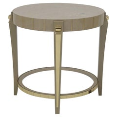 James Round Side Table