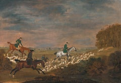 'Sir William Jolliffe's Hounds' - The Hunt in full cry