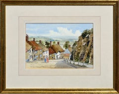 Landscape of Shaftesbury England