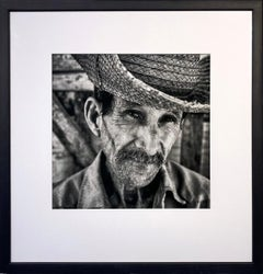 El Campesino by James Sparshatt. Framed baryta silver gelatin print.  2001