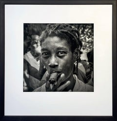 La Romera by James Sparshatt. Portait photograph, Silver Gelatin Print.