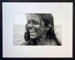 La Sonrisa by James Sparshatt, Silver Gelatin Print with Wood Frame, 2001