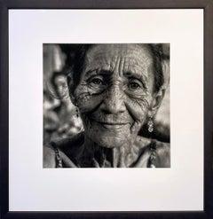 La vieja guajira by James Sparshatt. Portrait photograph. Silver Gelatin Print