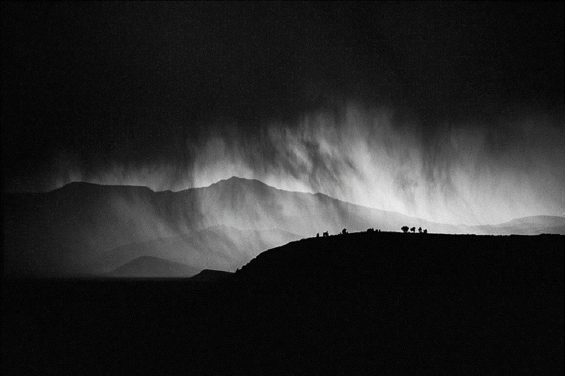 Storm Over The Altiplano by James Sparshatt. Framed Palladium Platinum print.
