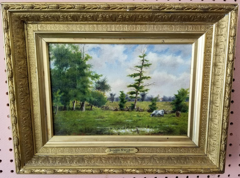 Landscape  - Painting by James Sword