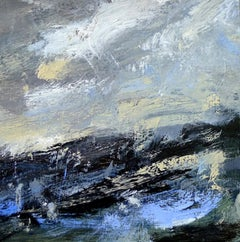 Heavy Sea (Cornwall), Landscape Painting, Seascape Art, Expressionist Painting