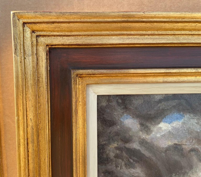 The Gathering Storm - 1930s Modern British Oil Painting by James Osborne For Sale 2