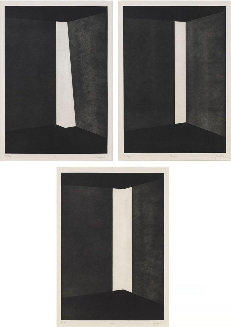 James Turrell Abstract Print - First Light (Columns)