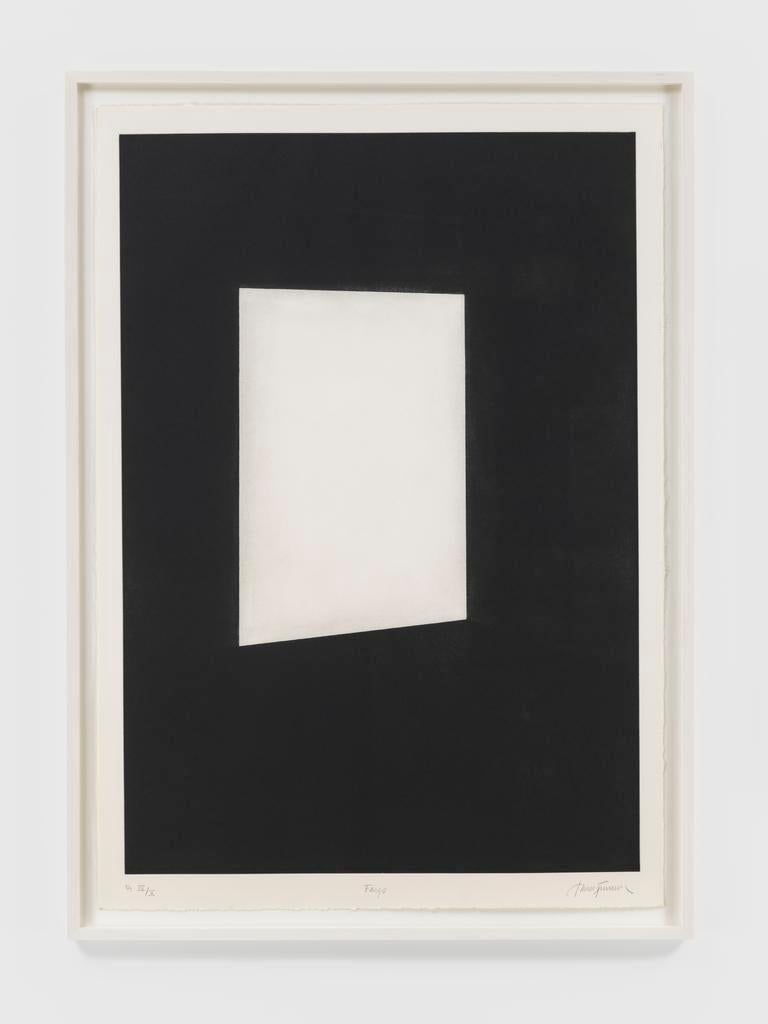 First Light (Parallelograms) - Print by James Turrell