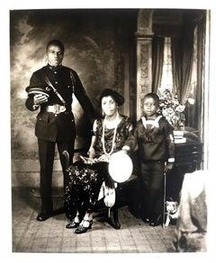 Garveyite Family, Harlem, 1924 by James Van Der Zee