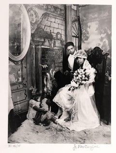 Wedding Day, New York City, Harlem Renaissance African American Photographer