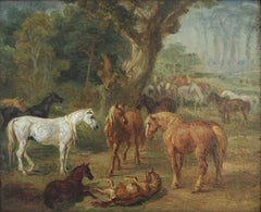 A Council of Horses An Equestrian Landscape