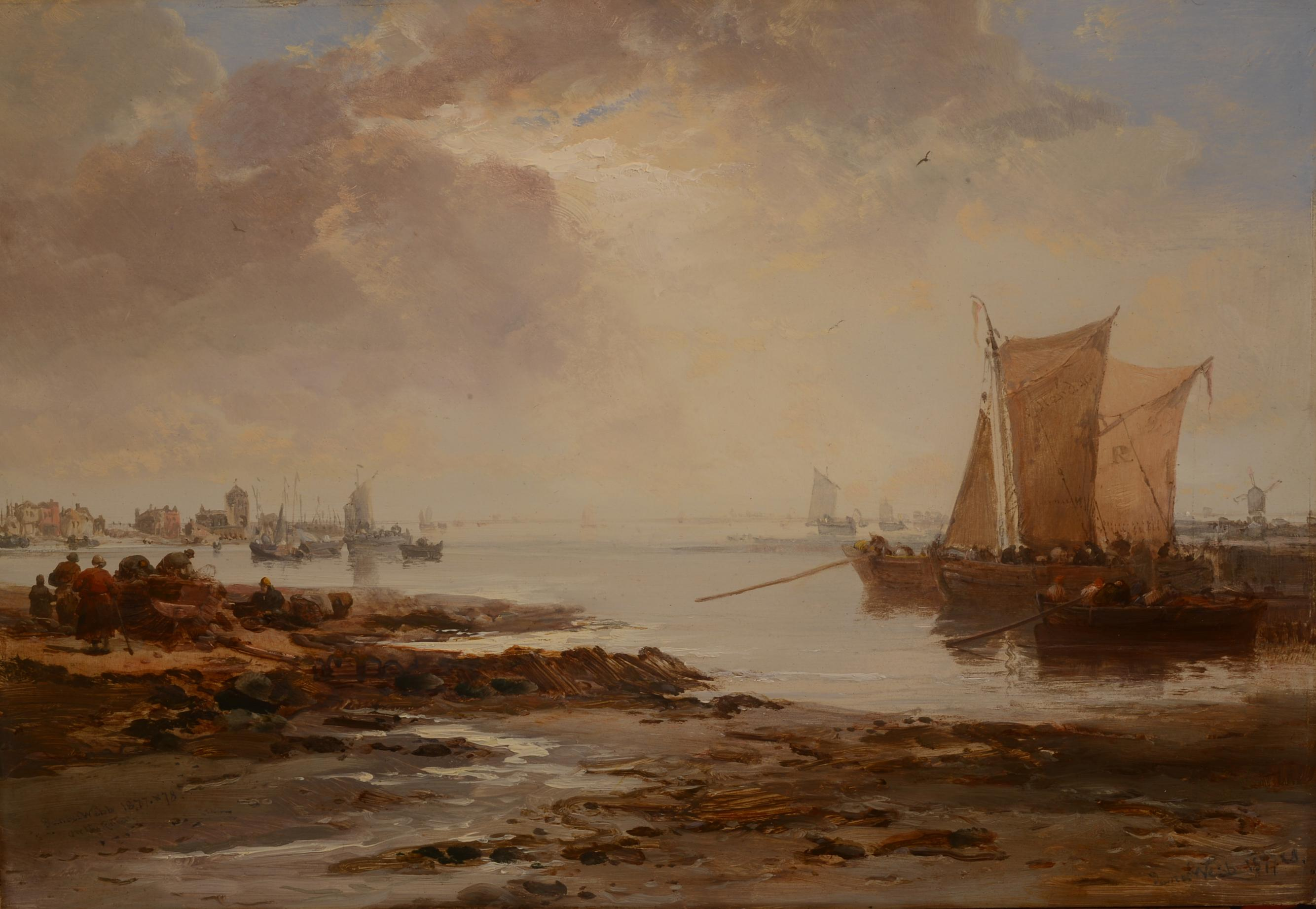 """Fishing boats, Rotterdam"""""""