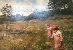 The Twins in the Field