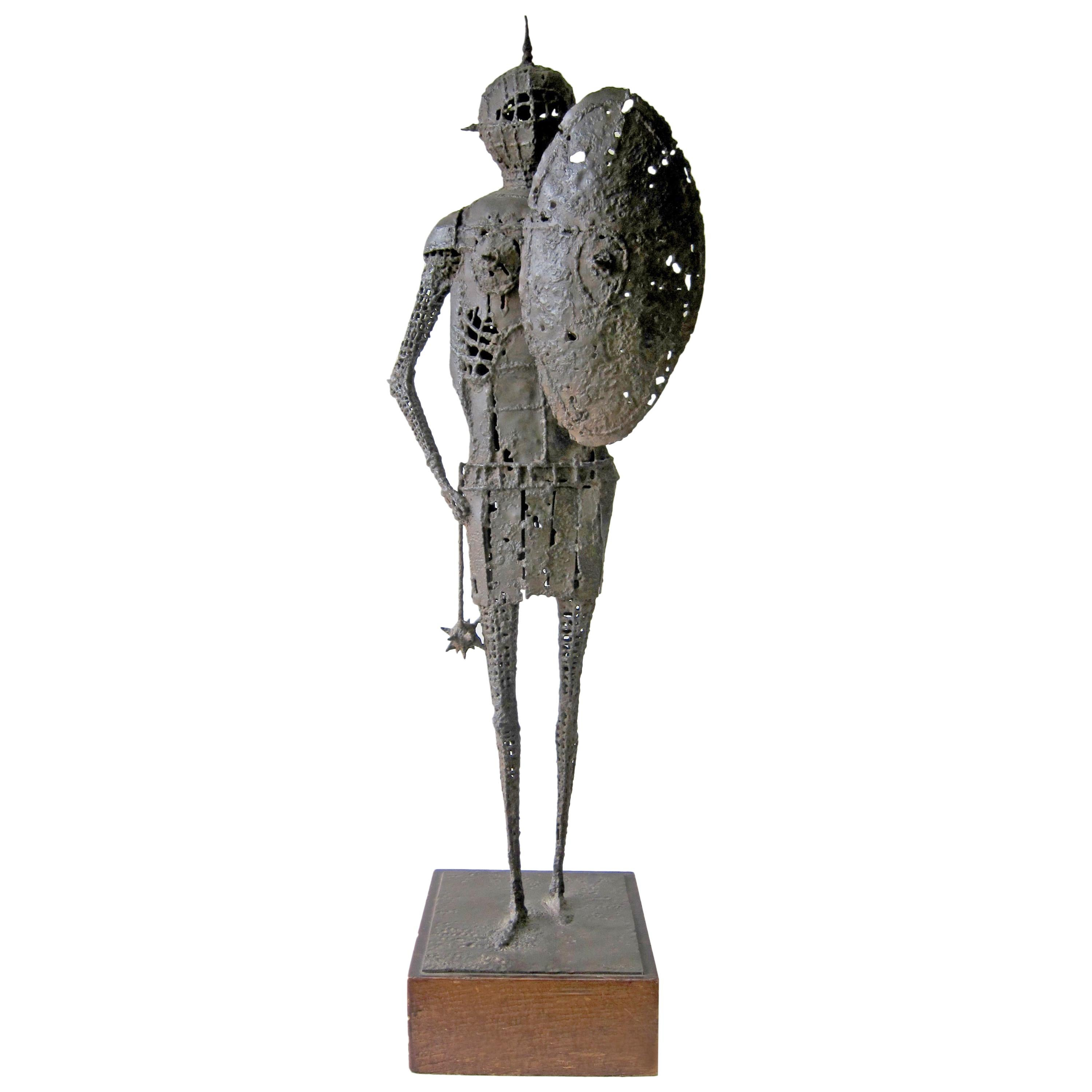 James Wines Iron Medieval Knight in Suit of Armor