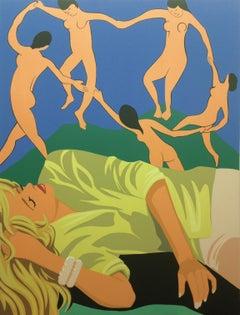 James Wolanin, Dream of the Dance (Matisse), 2020, female pop figurative-resin