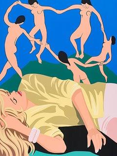 James Wolanin, Dream of the Dance (Matisse), 2020, female pop figurative
