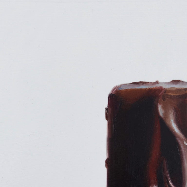 Snickers No. 6 - Photorealist Painting by James Zamora