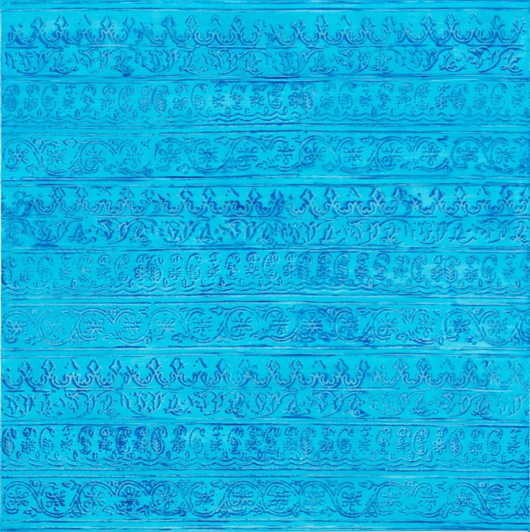 Jamie Brunson Abstract Painting - Saraswati