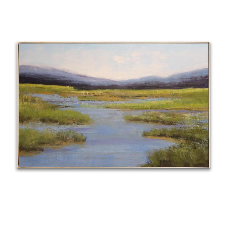 Jamie Kirkland Landscape Painting - Waterflow