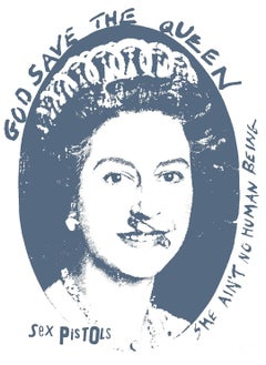"""""""God Save the Queen - Sex Pistols"""" Anniversary edition print"""