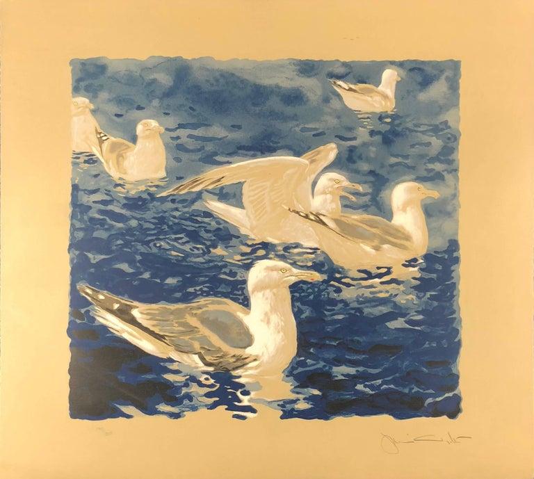 Herring Gulls - Print by Jamie Wyeth