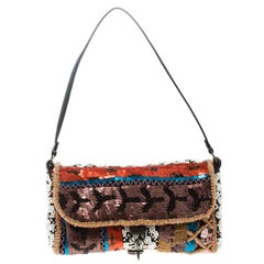Jamin Puech Multicolor Sequin Embellished Shoulder Bag