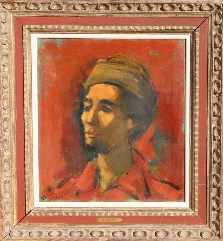 Jan De Ruth Portrait Painting - Portrait of the Artist as a Young Man, Oil Painting by Jan de Ruth