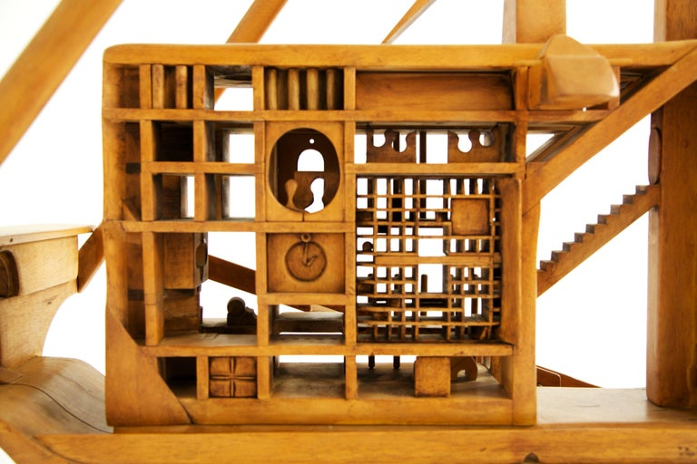 Jan De Swart Monumental Sculptural Ship For Sale 1