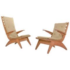 Jan Den Drijver, Dutch Modernism Easy Chairs, the Hague, 1940s