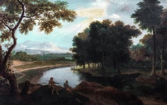 Figures In A Landscape, 17th Century