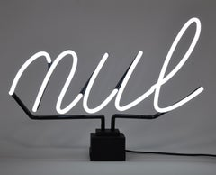 Nul - Contemporary, 21st Century, Sculpture, Limited Edition, Neon Light