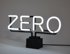Zero - Contemporary, 21st Century, Sculpture, Limited Edition, Neon