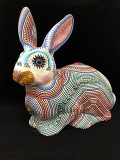 """""""Belle"""", Contemporary, Figurative, Beaded, Sculpture, Mixed Media, Pattern"""