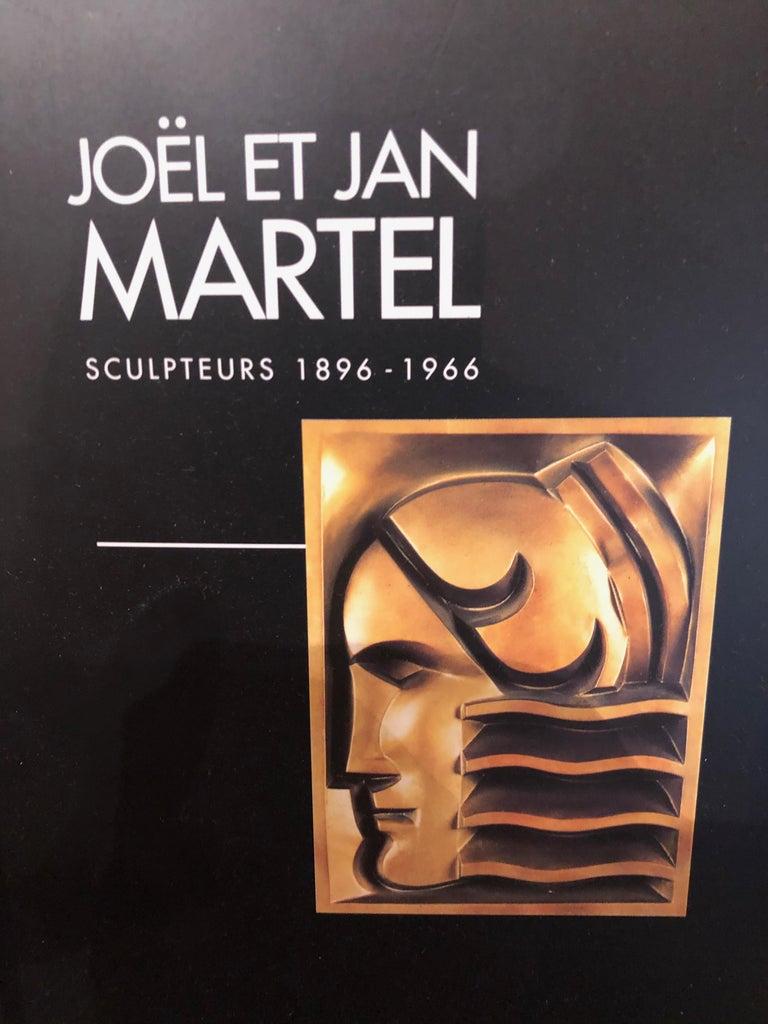 Jan & Joel Martel Art Deco Cubist Bronze Angel Monumental 2 of 8 For Sale 7