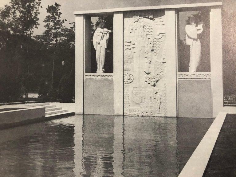 Jan & Joel Martel Art Deco Cubist Bronze Angel Monumental 2 of 8 For Sale 8