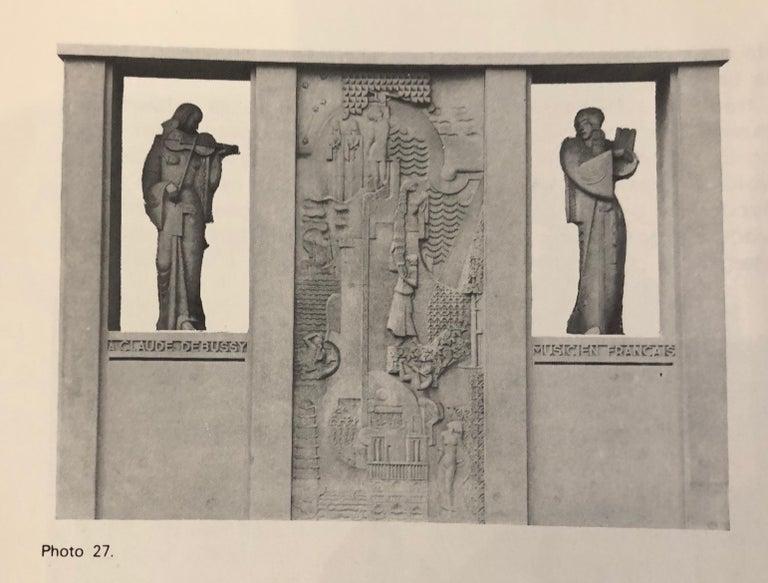 Jan & Joel Martel Art Deco Cubist Bronze Angel Monumental 2 of 8 For Sale 9