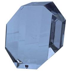 Jan Johansson for Orrefors Modernist Glass Sculpture