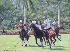 Polo Game in Wellington, Florida