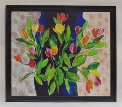 Tulips - Dutch Visual Artist Expressionist Art Colorful Cheerful Flowers